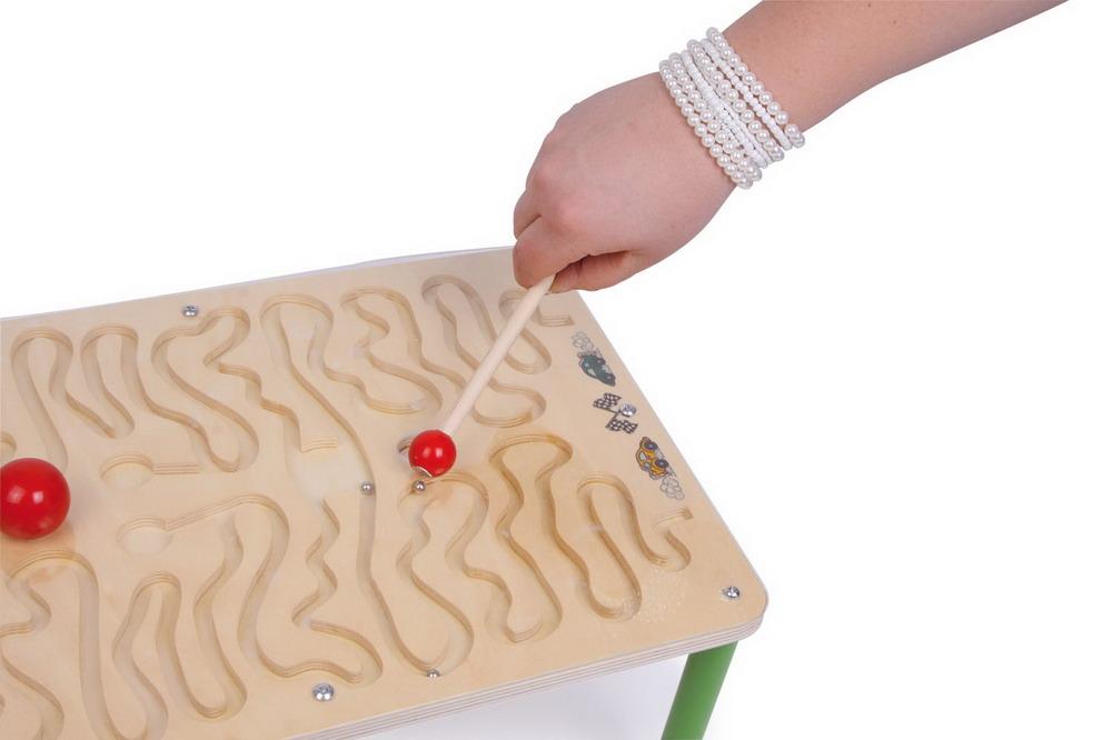 Table des parcours aimant s jbd jeux en bois - Parcours du combattant jeu ...