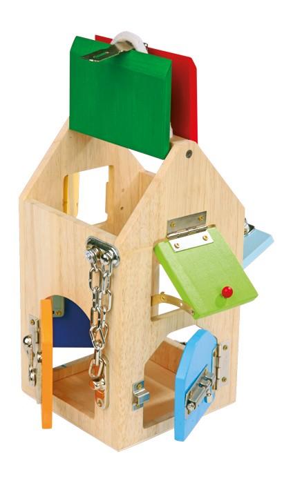 maison serrures jbd jouets en bois. Black Bedroom Furniture Sets. Home Design Ideas