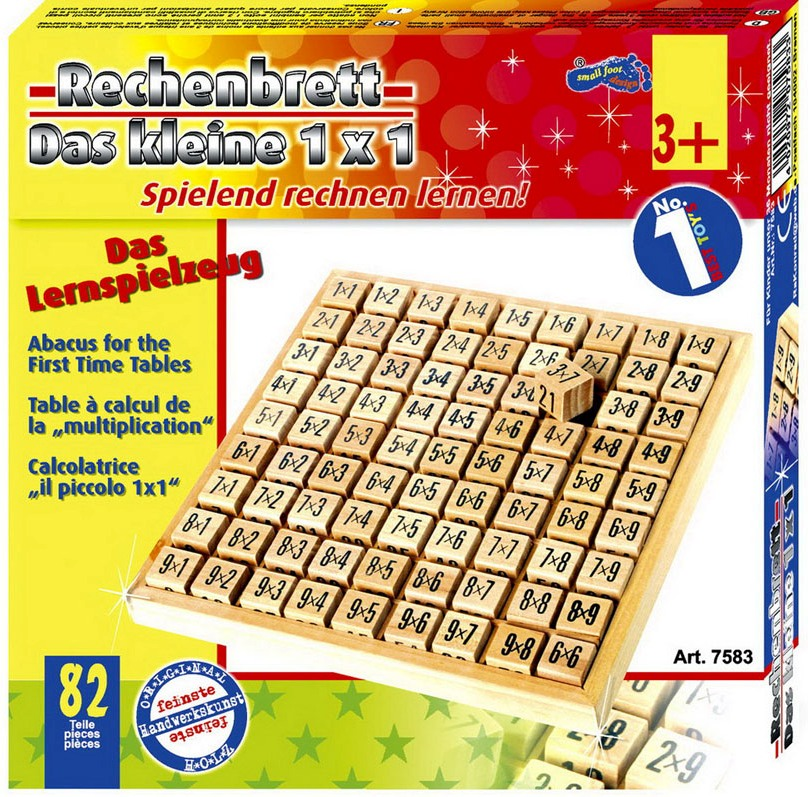 Table de multiplication calculer jbd jouets en bois for Apprendre ses tables de multiplication en jouant