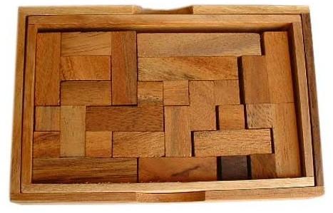 yasumi 3d de luxe jbd casse tetes en bois. Black Bedroom Furniture Sets. Home Design Ideas