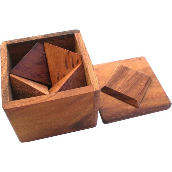 la pyramide secr te jbd casse tetes en bois. Black Bedroom Furniture Sets. Home Design Ideas