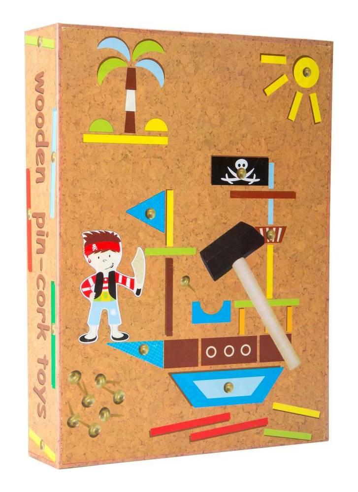 jeu de clous pirate jbd jouets en bois. Black Bedroom Furniture Sets. Home Design Ideas