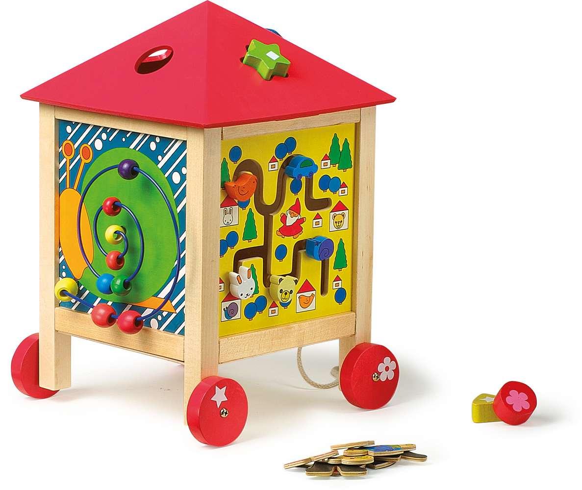 maison multi activites jbd jouets en bois. Black Bedroom Furniture Sets. Home Design Ideas
