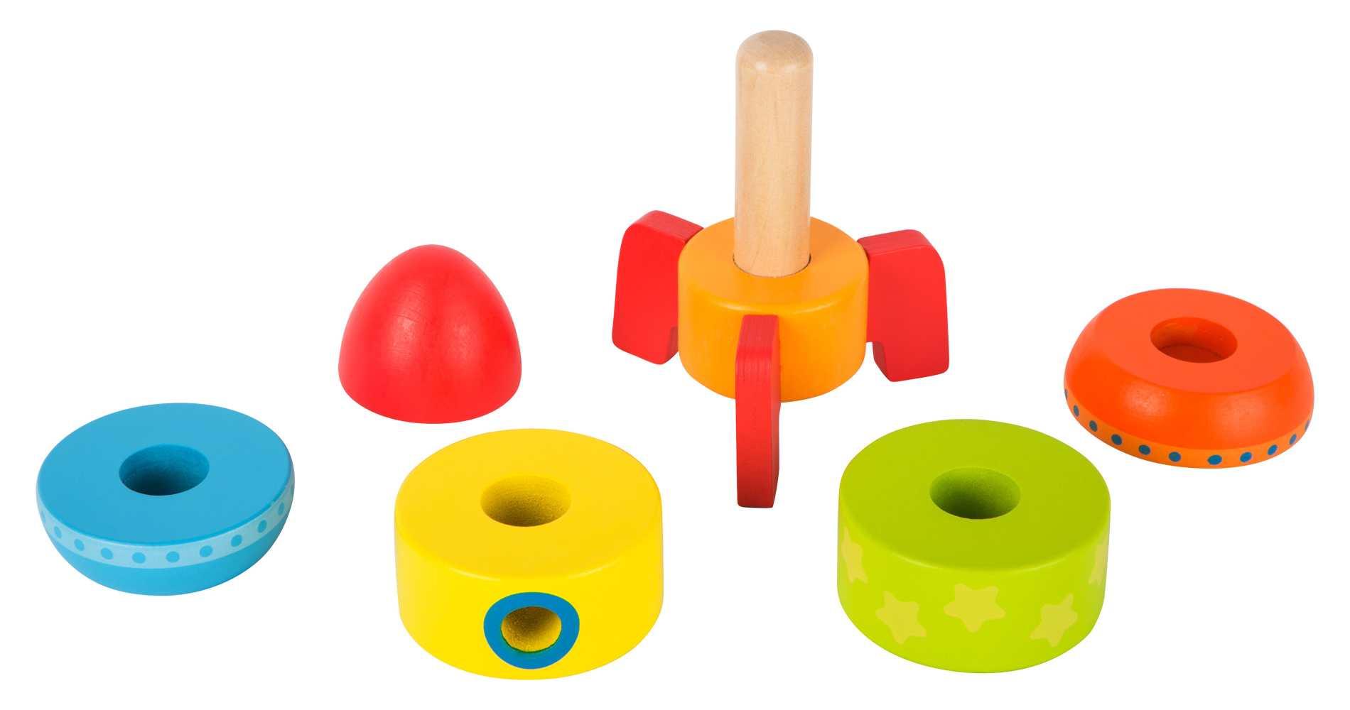 fus e empiler color e jbd jouets en bois. Black Bedroom Furniture Sets. Home Design Ideas
