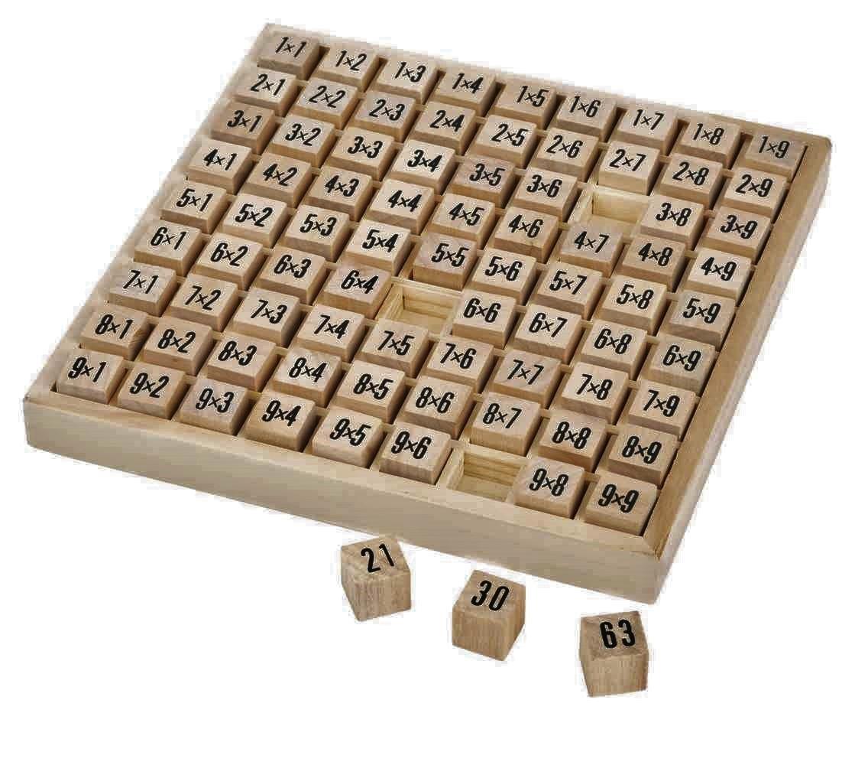 Table De Multiplication Jbd Jouets En Bois
